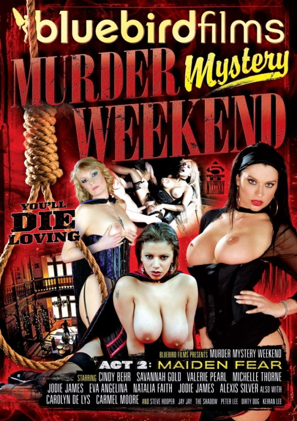 murder mystery weekend act 2